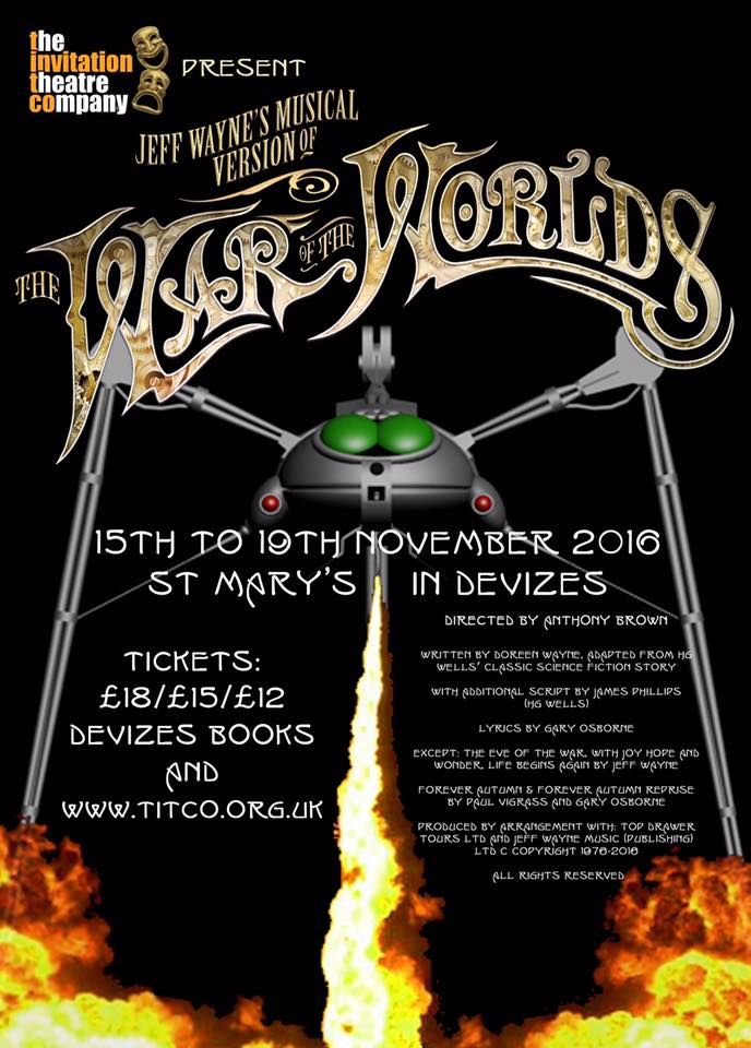 War of the Worlds :: 15th-19th November 2016